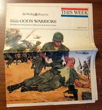 God's Warriors 16 Page Special Edition March 1967 American's Military Chaplains