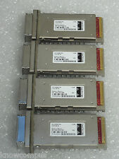 Lot of 4 Refurbished Cisco X2-10GB-CX4 10GBase-CX4 X2 Modules 90 Day Warranty