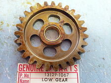 Kawasaki KX125 A 1974-1979 Low Drive Gear Output 13129-1067 NOS