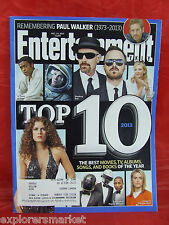 Entertainment Weekly 12 13 2013 issue Top 10 of everything Paul Walker Daft Punk