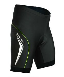 Berkner Derek Bike Shorts Cycling Shorts with Insert Seat Cushion Black - Green