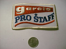 NEW UNUSED GARCIA PRO STAFF VINTAGE FISHING PATCH OLD SCHOOL GREAT FOR HAT