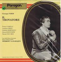 Verdi TROVATORE Corelli Price Simionato Bastianini Karajan - 3 LP box SEALED