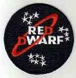 RED DWARF LOGO PATCH - RDF01