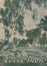 Originalkatalog Zeiss Ikon Cameras und Zubehör 1929