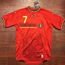2014/15 Belgium Home Jersey #7 De Bruyne Large Burrda Sport BNWT World Cup 2014