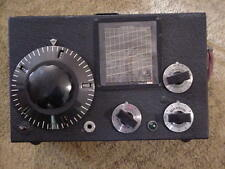 National One-Ten ultra-high frequency tube shortwave radio receiver EX.++