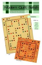 Nibbles Quilt Pattern by Modern Quilt Relish, Sizes from Baby/Wall to Queen/King