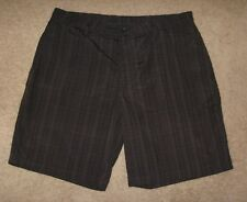Men's C9 by Champion Gray & Black Plaid Surf Skate Casual Shorts Size 40 38