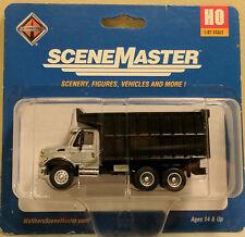 HO 1:87 Walthers SceneMaster International 7600 Dual-Axle Coal Dump Truck