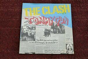 "The Clash Tommy Gun Rare Original UK 1978 Punk 7"" EX Vinyl"