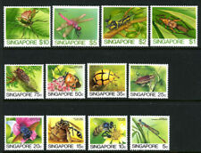 Singapore Insects 453-464 Mint Complete Set Never Hinged 1985 Issue 1A4 37