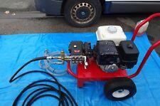 PRESSURE WASHER HONDA GX390 13HP PETROL 15LTRS @ 250BAR INTERPUMP GEARBOXED NEW