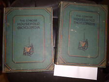 1950 Vol1+2 The Concise Household Encyclopedia by Hammerton 3000 Illustrations