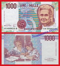 ITALIA ITALY 1000 Liras lire 1990 Pick 114c SC /  UNC