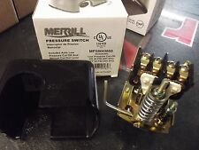 Merrill 30/50 Low Volume Pressure Switch for Water Well