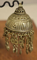 Beads Silver Kuchi Bell Large Belly Dancing Jewelry Middle Eastern Kuchi Bell