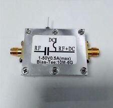 RF biaser Bias Tee 10MHz-6GHz + étui F Amateur Radio RTL SDR LNA Faible Bruit Amplificateur