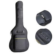 """41""""Guitar Bag Padded Gig Bag Double Straps Backpack Soft Case Black"""