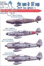 EagleCals Decals 1/48 JG-300 Focke Wulf Fw-190 & Messerschmitt Bf-109 Part 3