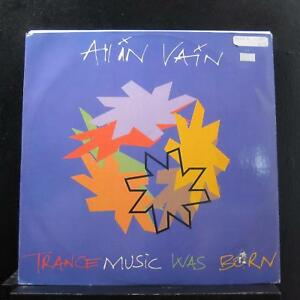 """All In Vain - Trance Music Was Born 12"""" 45 RPM TSX 212 Italy 1993 Vinyl Record"""