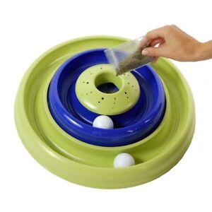 Bergan Turbo Catnip Hurrican Cat Toy Blue / Green