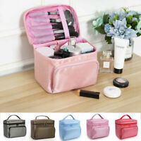 Large Beauty MakeUp Bag Nail Tech Cosmetic Box Case Toiletry Organizer Pounch