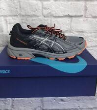 ASICS GEL-Venture 6 Trail Running Shoes - Grey - BlackMens Sz 10.5 New NWB