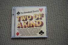 TWO OF A KIND RARE NEW SEALED 2 X CD! MICHAEL JACKSON JOHNNY CASH EURYTHMICS
