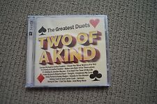 TWO OF A KIND RARE NEW SEALED 2 X CD! MICHAEL JACKSON JOHNNY CASH EURYTHMICS