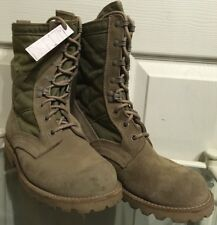 British Army Issue Tan Lightweight Desert Assault Combat Boots Size 7M DSB17M