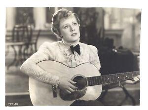 Irene Dunne 1936 Showboat Original 6.75x9.25 Playing Guitar