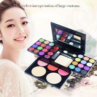 Lady Full Makeup Cosmetic Kit Palette Eyeshadow Blusher Foundation Lip Blush Set