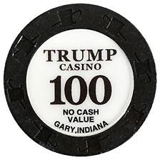Trump Casino Chip NCV 100 - Gary, Indiana OBS