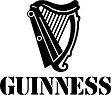 "Guiness Guinness Beer Sign vinyl sticker graphic Wrap Skin 10"" x 8"""