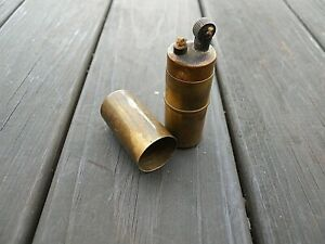 Vintage WW2 Tommy Soldier's Utility Petrol Lighter U.L. Parr Manufacturing Co.