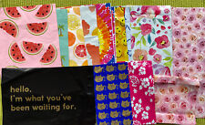 20 Assorted poly mailers 6x9, 9x12, 10x13,14x17 Please See Pictures