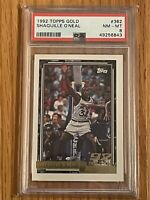 1992 Topps Gold Shaquille O'Neal RC Rookie #362