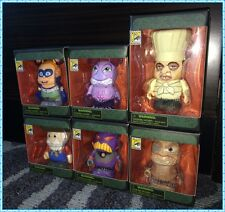 SDCC 2014 DISNEY VINYLMATION VILLIANS COMPLETE SET OF 6 SUPER RARE! #2