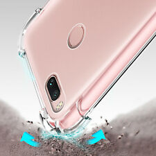 360° Shockproof Soft Silicone Transparent Back Case Cover for Xiaomi Mi A1/5X