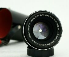 mint Carl Zeiss Jena PANCOLAR electric 1.8/50mm MC - M42 lens made in Germany