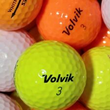 50 Volvik mix Colourful Golf Balls AAAA lakeballs Top Quality lady Used Balls