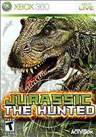 Jurassic: The Hunted (Microsoft Xbox 360, 2009) Complete w/ Manual