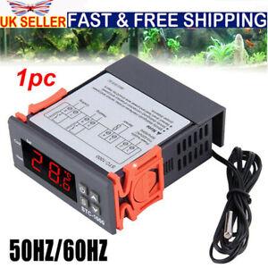 12V-220V LCD Digital Temperature Controller Thermostat with Sensor STC-1000