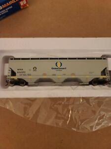 Walthers # 7646 60' NSC 3-Bay Cov Hopr Grain Connect Canada WFRX 856502 HO MIB