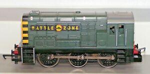 Hornby 00 Gauge Class 08 Shunter 0-6-0 Battlezone Locomotive Used Unboxed