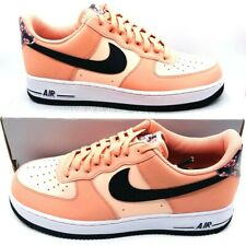 Nike Mens Air Force 1 Athletic Shoes Pink CU6649-100 Lace Up Low Top 11 M New