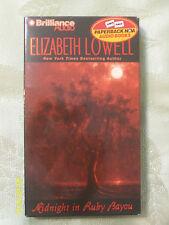 Midnight In Ruby Bayou by Elizabeth Lowell Audio Book (4 Cassettes, Abr. 2000)