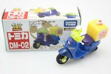 Takara Tomy Tomica Disney Motors Pizza Planet Bike Alien Dm-02 F/s From Japan