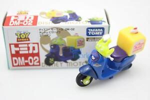 Tomica Takara Tomy Disney Motors DM-02 Chim Chim Alien Diecast Toy Story Car